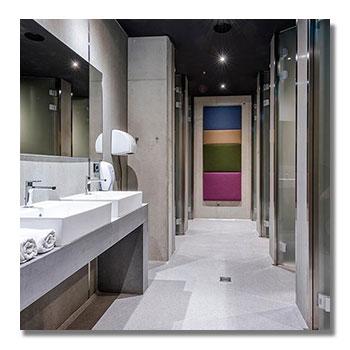 Büroreinigung Innsbruck Sanitäranlagen