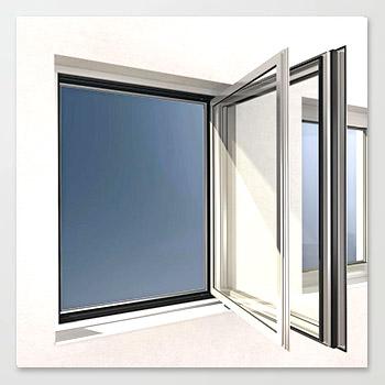 Reinigung von Verbundfenster